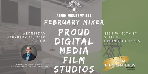 AIB2B February Mixer Tour of Proud Media Studios