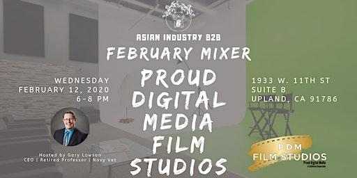 AIB2B February Mixer Tour of Proud Media Studios