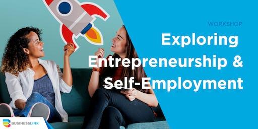 Exploring Entrepreneurship & Self-Employment Workshop YEG - Oct 16/19