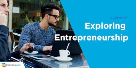 Exploring Entrepreneurship Workshop YYC - Oct 29/19 tickets
