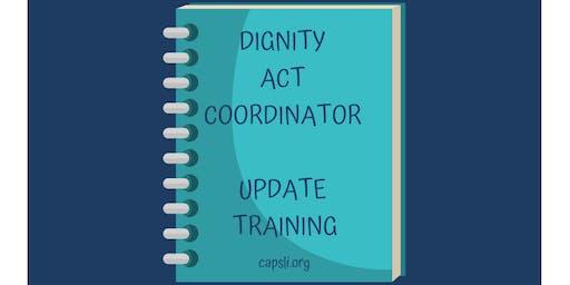 Dignity Act Coordinator Training