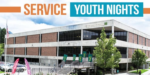 Utah Valley Institute: Service Youth Nights (Tuesdays, Wednesdays)