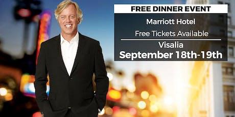 (Free) Secrets of a Real Estate Millionaire in Visalia by Scott Yancey tickets