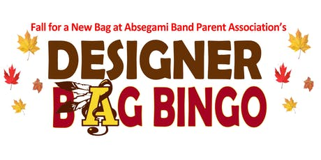 Absegami Band Designer Bag Bingo tickets