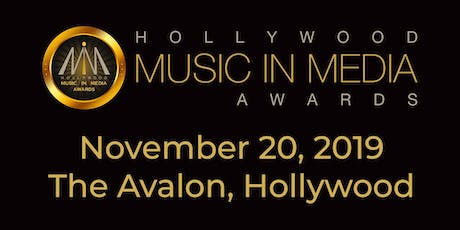 2019 Hollywood Music In Media Awards tickets