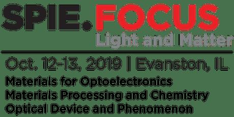 SPIE FOCUS: Light and Matter - Conference Attendance Registration tickets