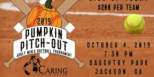 Pumpkin Pitch-Out Adult Men's One Pitch Softball Tournament