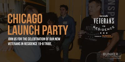 Chicago Launch Party: Veterans in Residence powered by Bunker Labs