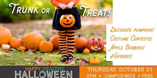 Happy Healthy Halloween - Trunk or Treat