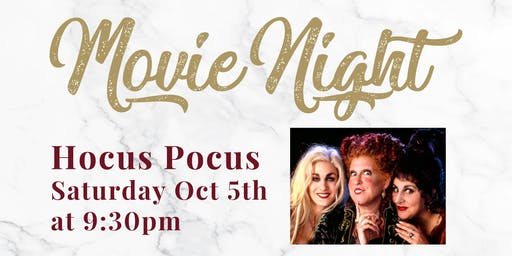 Movie Night - Hocus Pocus