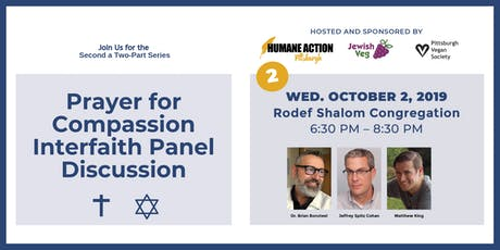 Prayer for Compassion Interfaith Panel tickets