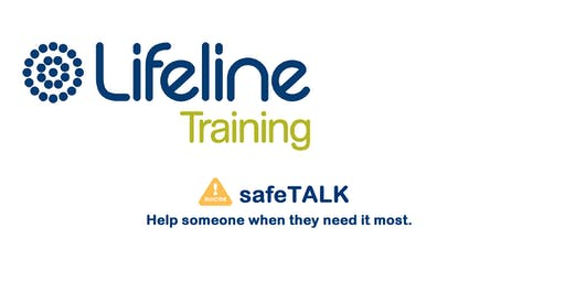 Lifeline SafeTalk Half-day Training Workshop Annerley