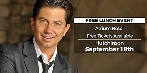 (FREE) Millionaire Success Habits revealed in Hutchinson by Dean Graziosi