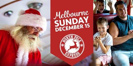 Melbourne North Pole Express - Sunday, 15 December 2019 tickets