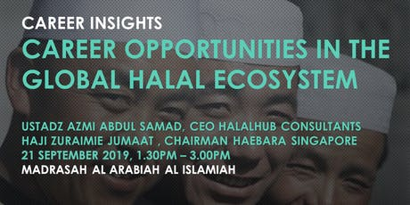 Career Opportunities in the Global Halal Ecosystem tickets