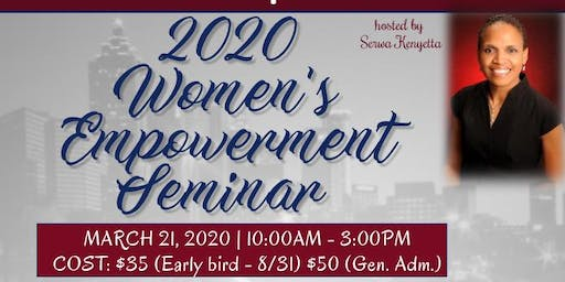 2020 Annual Women's Empowerment Seminar Vendor Registration