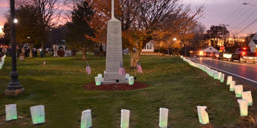 VETERAN'S VIGIL & LUMINARY CEREMONY