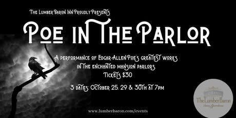 Poe in the Parlor 10/29 tickets