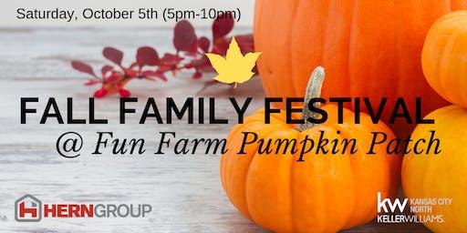 Fall Family Festival @ Fun Farm Pumpkin Patch