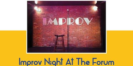 Improv Night at The Forum