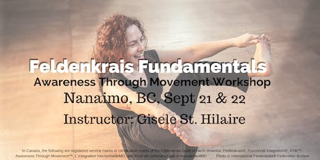 Two Day Awareness Through Movement Workshop (Nanaimo) tickets
