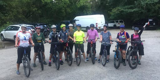 Women's basic mountain bike skills clinic