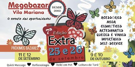 Megabazar Vila Mariana 25 e 26 de Setembro (7ª Edição Extra) ingressos