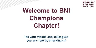 Champions Networking Breakfast