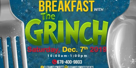 Breakfast with the Grinch tickets