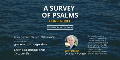 A Survey of Psalms Conference 2019 tickets