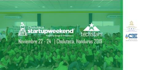 Techstars Startup Weekend Choluteca entradas