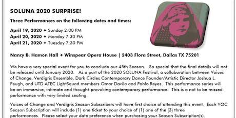 Voices Of Change - SOLUNA 2020 Surprise! tickets
