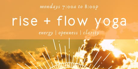 Rise + Flow Yoga tickets