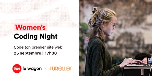 Le Wagon x URelles : Women's Coding Night