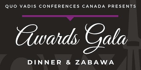 Quo Vadis X Awards Gala tickets