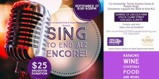 Sing to End ALZ Encore
