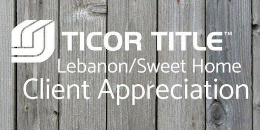 Ticor Title Lebanon's Client Appreciation Event