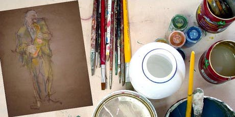 Artist Almanac: Creating From Sight - Drawing & Painting Basics tickets