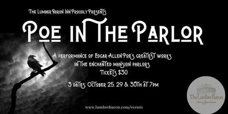 Poe in the Parlor 10/30 tickets