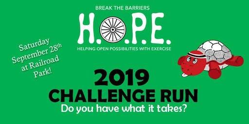2019 Challenge Run