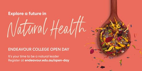 Natural Health Open Day - Melbourne - 12 October 2019 tickets