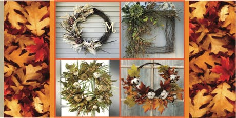 Autumn Abundance Wreath Workshop tickets