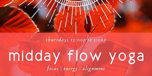 Midday Flow Yoga
