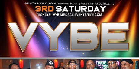 Vybe 3rd Saturday's @ Takoma Station tickets