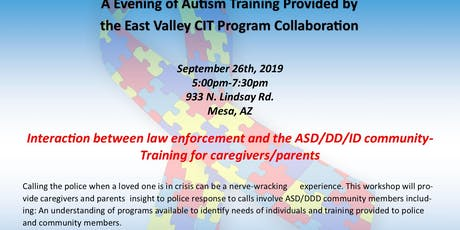 Community Autism  Caregiver Training tickets