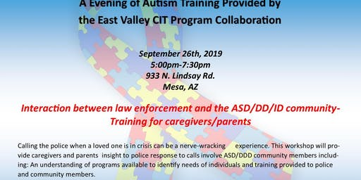Community Autism  Caregiver Training