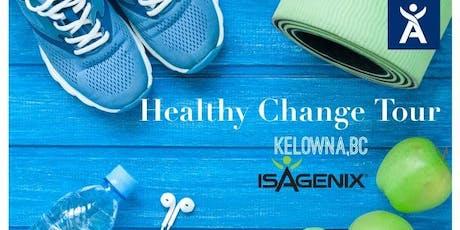 Healthy Change Tour Kelowna tickets