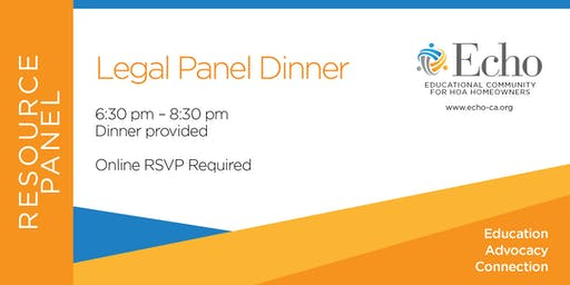 Echo Legal Resource Panel Dinner
