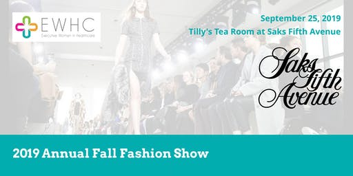 2019 Annual Fall Fashion Show