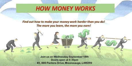 """""""How Money Works"""" - Financial education session on Mortgages, Investments & Insurance tickets"""